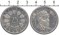 Изображение Монеты Австрия 25 шиллингов 1964 Серебро Proof- Франц  Грильпарцер.(