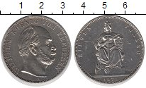 Изображение Монеты Пруссия 1 талер 1871 Серебро XF