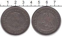 Изображение Монеты Чили 1 песо 1869 Серебро XF