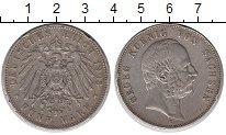 Изображение Монеты Саксония 5 марок 1903 Серебро VF