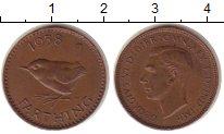 Изображение Монеты Великобритания 1 фартинг 1938 Бронза XF
