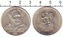 Изображение Монеты Чехословакия 100 крон 1983 Серебро UNC