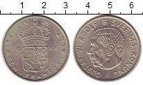 Изображение Монеты Швеция 2 кроны 1969 Медно-никель UNC-