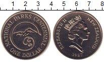 Изображение Монеты Новая Зеландия 1 доллар 1987 Медно-никель UNC-
