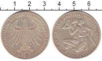 Изображение Монеты ФРГ 10 марок 1972 Серебро XF Олимпиада Мюнхен 197