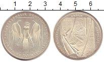 Изображение Монеты Германия ФРГ 10 марок 1990 Серебро UNC-