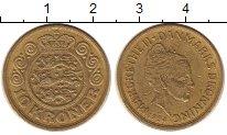 Изображение Монеты Дания 10 крон 1994 Латунь XF