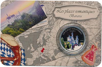 Изображение Подарочные монеты Бенин Романтические места 2013 Серебро Proof `Монета номиналом 10