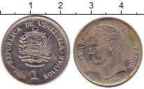 Изображение Дешевые монеты Венесуэла 1 боливар 1989 Алюминий VF+