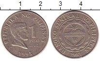 Изображение Барахолка Филиппины 1 песо 1995 Медно-никель XF