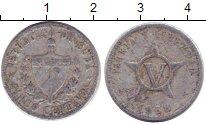 Изображение Дешевые монеты Куба 1 сентаво 1958 Алюминий VF