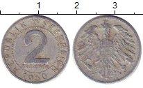 Изображение Барахолка Австрия 2 шиллинга 1950 Медно-никель VF+