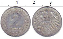 Изображение Барахолка Австрия 2 гроша 1950 Медно-никель XF-