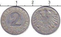 Изображение Дешевые монеты Австрия 2 гроша 1950 Медно-никель XF
