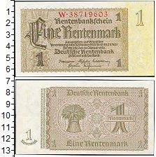 Изображение Боны Веймарская республика 1 марка 1923  XF /