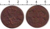 Изображение Монеты Швеция 1/6 эре 1672 Медь VF
