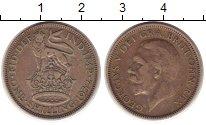 Изображение Монеты Великобритания 1 шиллинг 1939 Серебро XF Георг V.  Английский