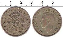 Изображение Монеты Великобритания 2 шиллинга 1951 Медно-никель XF