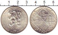 Изображение Монеты Чехословакия 100 крон 1988 Серебро UNC-
