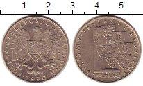 Изображение Монеты Польша 10 злотых 1970 Медно-никель UNC-