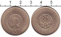 Изображение Монеты Польша 10 злотых 1969 Медно-никель UNC-