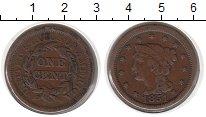 Изображение Монеты США 1 цент 1851 Медь XF