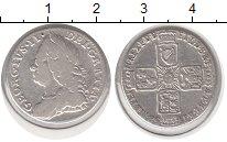 Изображение Монеты Великобритания 6 пенсов 1758 Серебро VF Георг II.