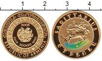 Изображение Монеты Армения 10000 драм 2008 Золото Proof-