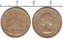 Изображение Монеты Канада 10 центов 1962 Серебро XF Елизавета II.