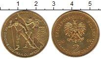 Изображение Монеты Польша 2 злотых 2006 Медь XF Олимпиада 2006. Тури