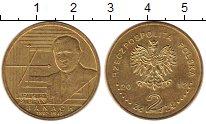 Изображение Монеты Польша 2 злотых 2012 Медь XF