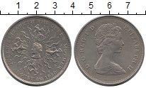 Изображение Монеты Великобритания 25 пенсов 1980 Медно-никель UNC