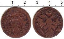 Изображение Монеты 1730 – 1740 Анна Иоановна 1 деньга 1739 Медно-никель VF