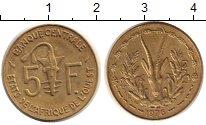 Изображение Монеты Центральная Африка 5 франков 1976 Медь XF