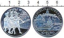Изображение Монеты Австрия 10 евро 2002 Серебро Proof