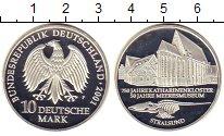 Изображение Монеты ФРГ 10 марок 2001 Серебро Proof