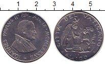 Изображение Монеты Ватикан 100 лир 1987 Сталь UNC-