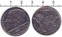 Изображение Монеты Ватикан 100 лир 1985 Сталь UNC-