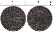 Изображение Монеты Германия Немецкая Африка 1 геллер 1907 Бронза VF