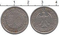Изображение Монеты Веймарская республика 50 пфеннигов 1928 Медно-никель XF A