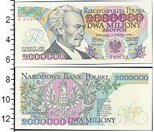 Изображение Боны Польша 2000000 злотых 1993  UNC-