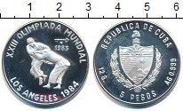 Изображение Монеты Куба 5 песо 1983 Серебро Proof-