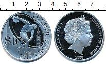 Изображение Монеты Соломоновы острова 10 долларов 2008 Серебро Proof