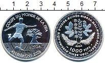 Изображение Монеты Западная Африка 1000 франков 2004 Серебро Proof