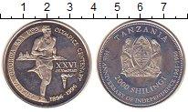 Изображение Мелочь Танзания 2000 шиллингов 1996 Медно-никель XF