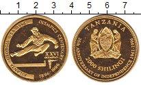 Изображение Мелочь Танзания 2000 шиллингов 1996 Латунь UNC-