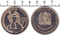 Изображение Мелочь Танзания 2000 шиллингов 1996 Медно-никель UNC- 35 лет  независимост