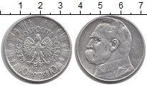 Изображение Монеты Польша 10 злотых 1936 Серебро XF Йозеф Пилсудский