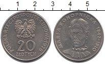 Изображение Монеты Польша 20 злотых 1978 Медно-никель UNC-