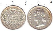 Изображение Монеты Португалия 10 сентаво 1915 Серебро XF